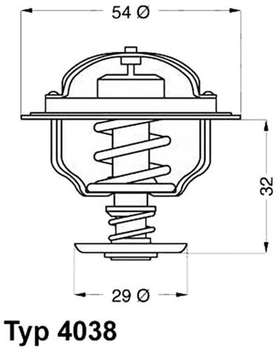 Thermostaat voor Volvo Penta 3831426
