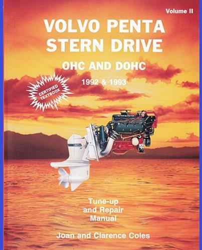 Werkplaatshandboek Volvo Penta Stern Drives 1992-1993 voor Volvo Penta