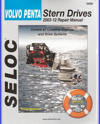 Werkplaatshandboek Volvo Penta Stern Drives 2003-2012 voor Volvo Penta