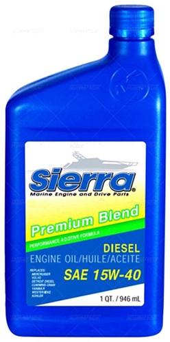 Motorolie 15W40 946 ml voor Volvo Penta