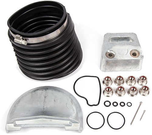 Accessoires set aluminium voor Volvo Penta 877120