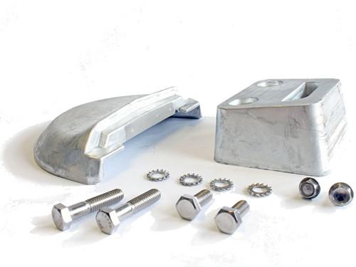 Aluminium anode set onderste eenheid voor Volvo Penta 3854130